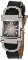 Altanus Geneve 16083B-01 Kelly Stainless Steel Quartz Black Leather Sapphire