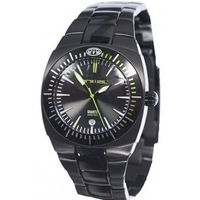 Animal WW3WC011-002 Surfmaster Black Steel Integral Bracelet