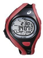 ASICSC CQAR0404 - WATCH MEN - QUARTZ - BLACK - RED