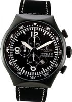 50 MM TYPE B Black PVD Aluminum Case Chronograph Tachymeter Date