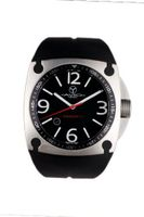 Avio Milano Quartz with Black Dial Analogue Display and Black Rubber Strap MK AC 1001