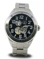 AWI Automatic Self Winding Stainless Steel Case/Transparent Case Back