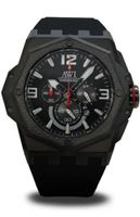 AWI Quartz Chronograph Stainless Steel/Carbon Fiber Top Ring/Black PVD Plating Case