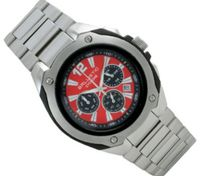 Ballistic BWC102 Cyclone Chronograph Silver Red