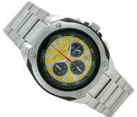 Ballistic BWC104 Cyclone Chronograph Silver Yellow