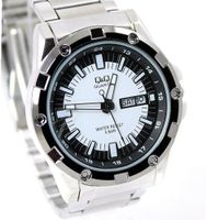 Business Sports Silver Tone 51mm Case