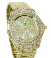 Clubbing Iced Out Textured Race 46mm Case