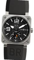 Bell and Ross Aviation GMT Carbon Fiber Dial BR0351-GMT