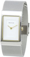 Bering Time 10222-010 Ladies Silver Mesh