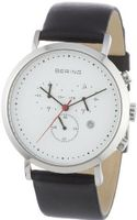 Bering Time 10540-404 White Chronograph