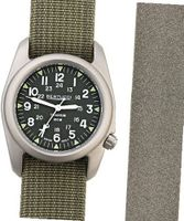 Bertucci 02038 A-2T Boxed Set Vintage 12030 Titanium with Drab and Foliage Nylon and Tridura Straps