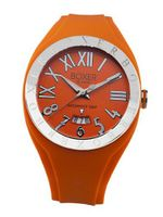 BOX 40 ORANGE Roman Numerals Luminous Orange Date