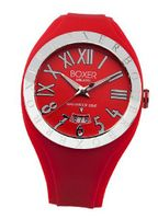 BOX 40 RED Roman Numerals Luminous Red Date