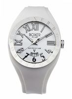 BOX 40 WHITE Roman Numerals Luminous White Date