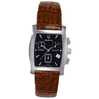 Accutron 26B19 Oxford Leather