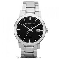 Burberry Automatic Black Dial Stainless Steel BU9301