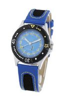 CAC Boys with Blue Strap and Blue Bezel CAC-26-M04