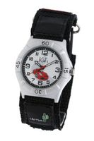 CAC Boys with White dial and Racing Car Velcro Strap CAC-32-M01