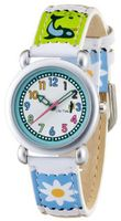 CAC Girls with White Dial and Picture Filmstrip Strap CAC-33-L04