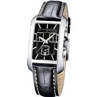 Candino C4334-E Chronograph Black Leather Strap