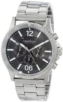 Caravelle New York 43A115 Analog Display Japanese Quartz White