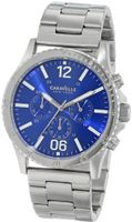 Caravelle New York 43A116 Stainless Steel Bracelet