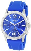 Caravelle New York 43A117 Analog Display Japanese Quartz Blue