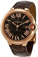 Cartier Ballon Bleu Brown Dial 18kt Rose Gold Case Automatic W6920037