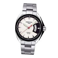 Certina C0104101103100 mm Silver Steel Bracelet & Case Anti-Reflective Sapphire