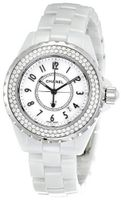 Chanel H0967 J12 Diamonds White Dial