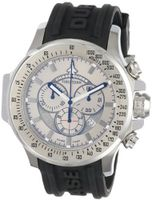 Chase-Durer 380.2SS-RUBB Firestorm Chronograph Stainless Steel Rubber Strap