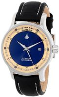 Chase-Durer 501.2LI1-LEA Condor Automatic Navy Black Leather