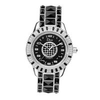 Christian Dior CD115511M001 Christal Black Diamond Dial