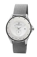 Christina Design London Classic Quartz with Silver Dial Analogue Display and Grey Bracelet 518SS-MESH
