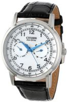 Citizen AO9000-06B Eco-Drive Stainless Steel Day-Date Casual