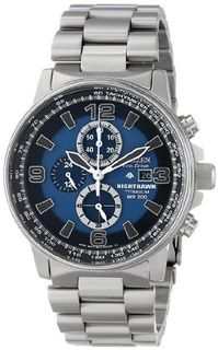 Citizen CA0500-51L Eco-Drive Titanium Nighthawk Chronograph