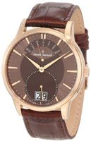 Claude Bernard 34004 37R BRIR Classic Gents Rose Gold PVD Brown Dial Big Day Date
