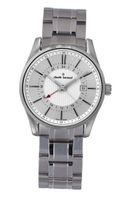 Claude Bernard 52004 3 AIN Classic Gents Silver Dual Time Stainless Steel