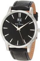 Claude Bernard 63003 3 NIN Classic Gents Black Dial Leather Date