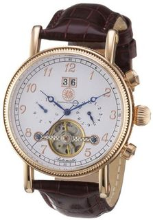 Constantin Durmont Automatic CD-TRAD-AT-LT-RGRG-WH with Leather Strap