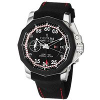 Corum 96110104/F231AN Admiral Cup Black Rubber Strap