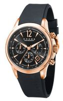 Cross Agency Gents Chronograph Calander Black Silicone Strap CR8011-04
