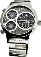 Curtis & Co. 2013 Big Time World Stainless Steel Grey Dial Swiss Made Numbered Limited Edition