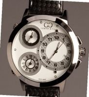 Curtis & Co. Big Time World 50mm White Dial Swiss Made Limited Edition