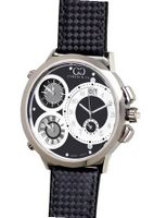 Curtis & Co. Big Time World 57mm Black Dial Swiss Made Numbered Limited Edition