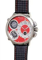 Curtis & Co. Big Time World 57mm Red Dial Swiss Made Numbered Limited Edition