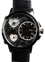 Curtis & Co. Ladies Big Time Love 50mm Black Dial Mother of Pearl w/Diamonds Limted Edition