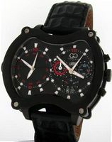 uCURTIS & Co. Timepieces Curtis & Co. Big Time Grand Chrono 2 Time Zone Black IPU Swiss Limited Edition