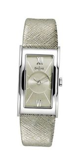 Davosa Quartz with Gold Dial Analogue Display and Gold Leather Strap 16755535
