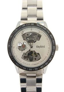 Daybird Tachymetre Bezel Stainless Steel Automatic es